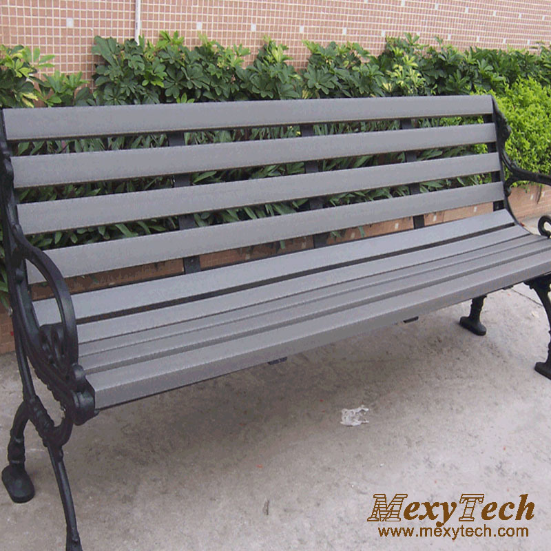 China Composite Wood Street Bench for Park, Garden ...