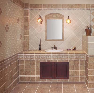 Small Size Porcelain Rustic Tile