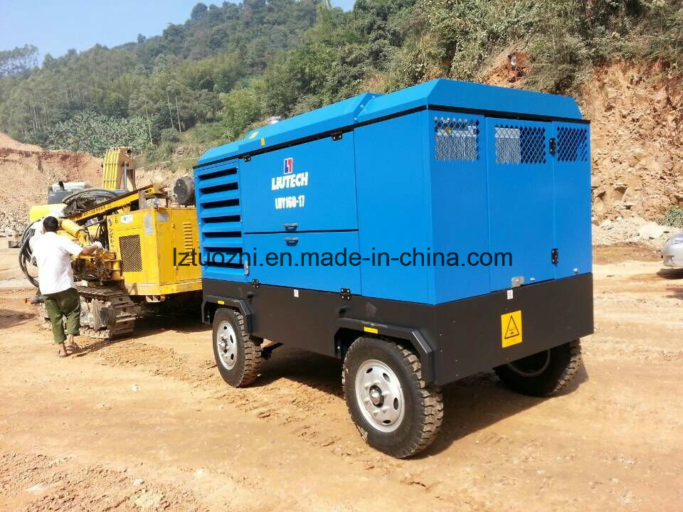 Atlas Copco-Liutech 570cfm 17bar Mining High Pressure Air Compressor