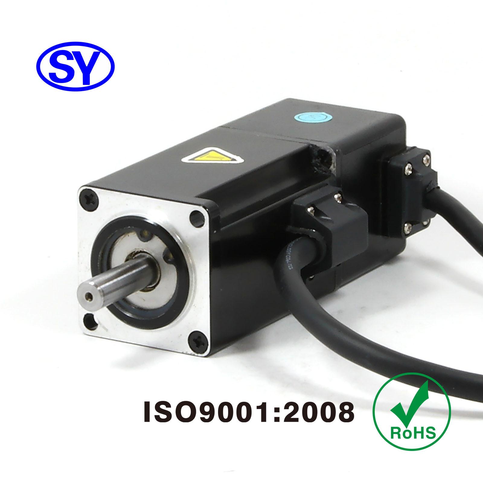 100W AC Servo Electrical Motor for Electric Vehicle (60SV100AA30C)