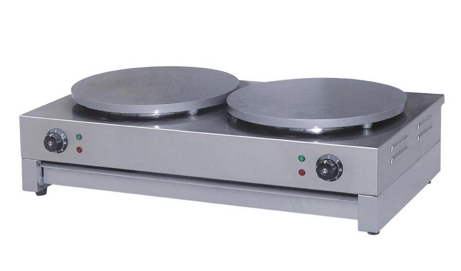Crepe Maker Double (Electric and Gas) (ET-BJ-2, ET-RBJ-2)