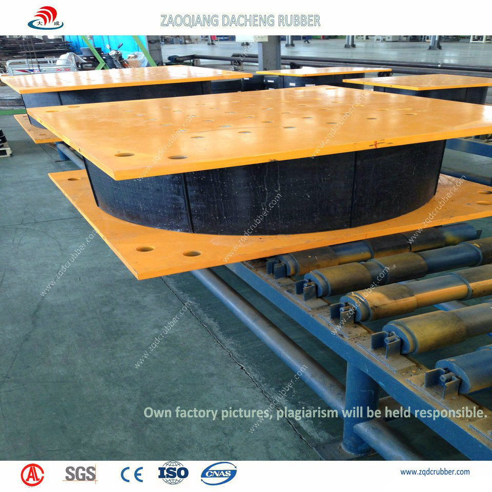 Lead Rubber Bearing for Bridge (seismic isolators)