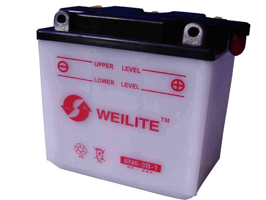 Motorcycle Storage Battery (6N6-3B-1) - China Storage ...