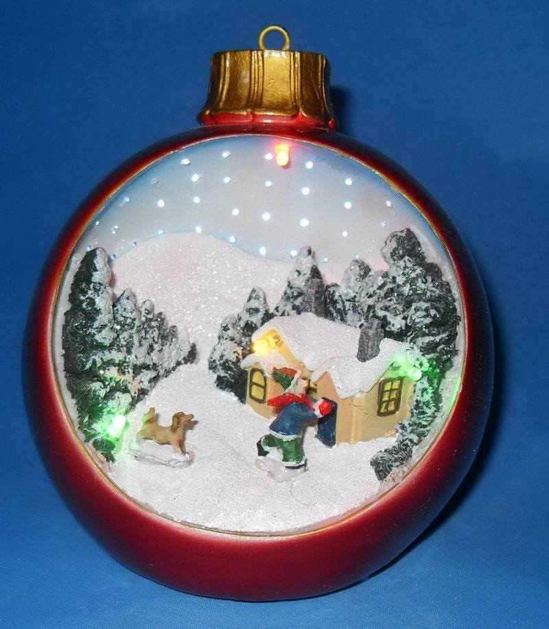 China led christmas ornament c