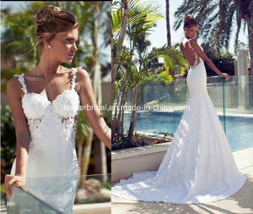 wedding dress backless beach