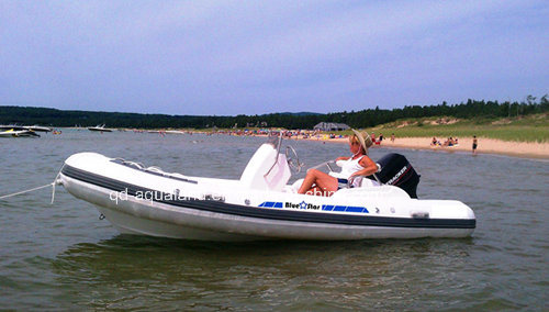 Aqualand 16feet Stylish Rigid Infatable Boat/Rib Boat9rib480c)