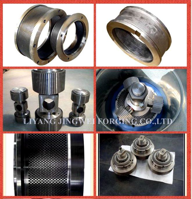 Supply Mold Ring and Other Wood Pellet Machine Spare Parts