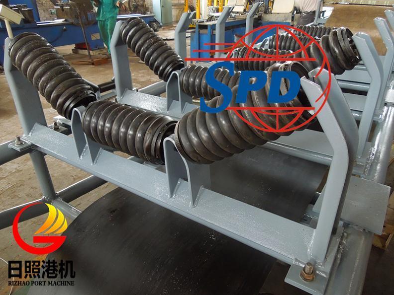 SPD Belt Conveyor Impact Roller for Bulk Handling