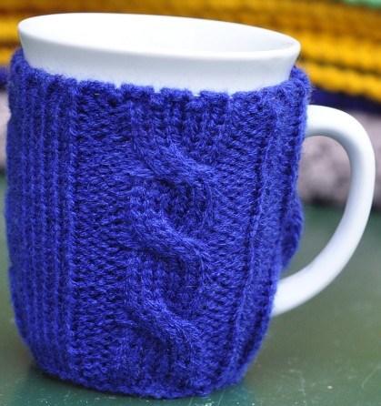 Free Knitting Pattern Coffee Cup Sleeve : FREE KNITTING PATTERN FOR COFFEE SLEEVES   KNITTING PATTERN