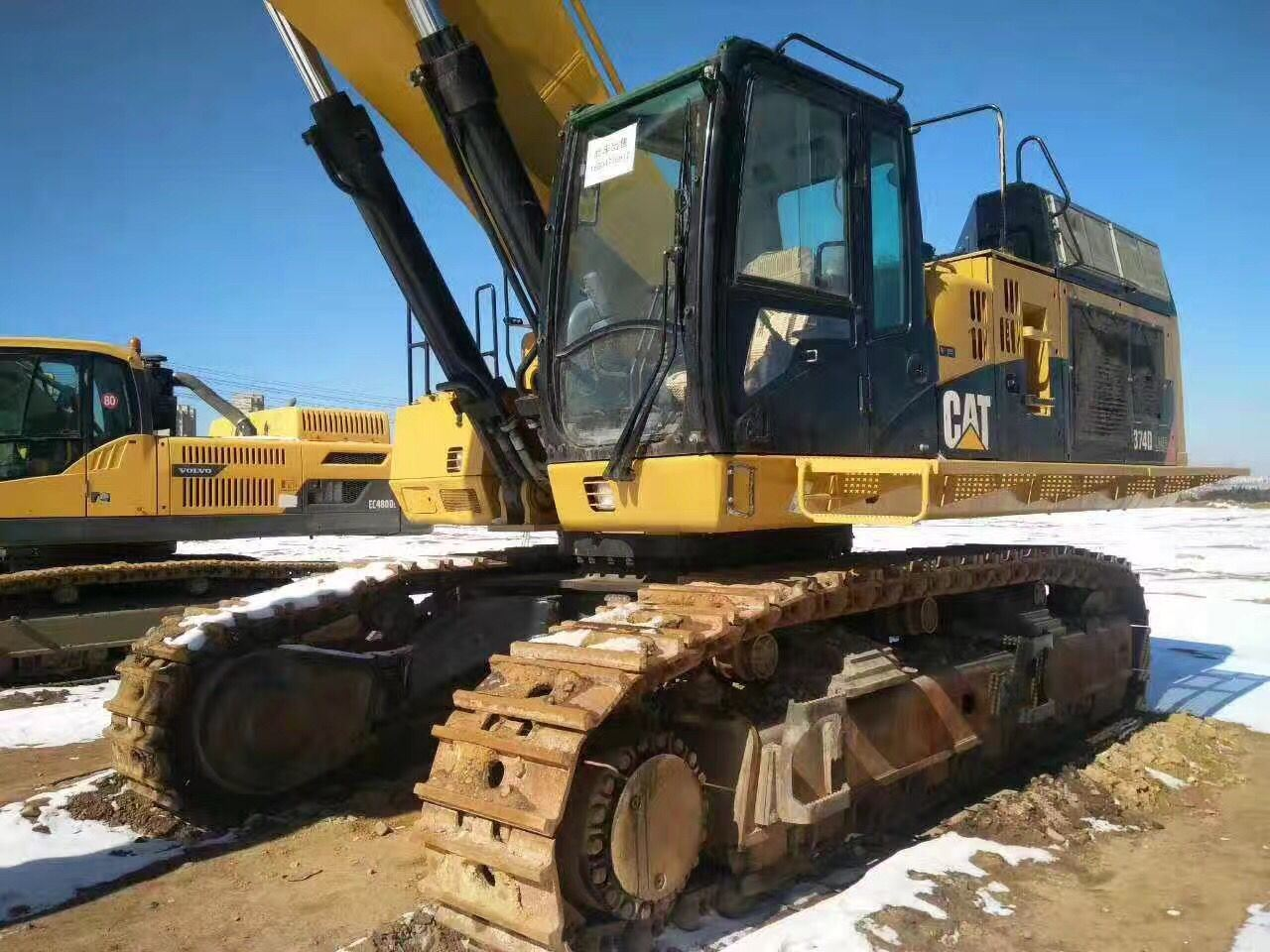 Used Good Working Condition Japanese Original Excavator Caterpillar 374dl for Sale 2011