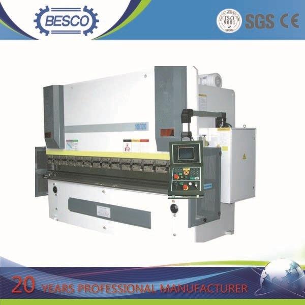 Besco Hydraulic Press Brake and Hydraulic Shearing Machine, Guillotine Shearing Machine