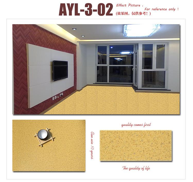 Factory Waterproof PVC Floor Hospital Marble Grain Indoor Vinyl Flooring
