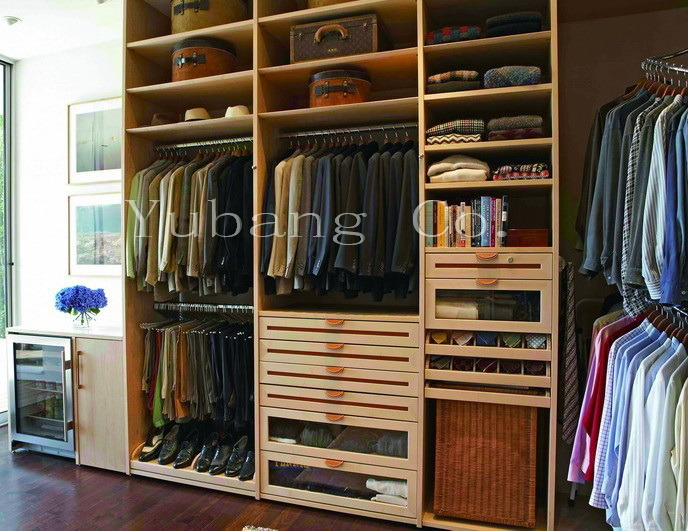 Wooden Closet Organizer (Bedroom closets) (BF31)