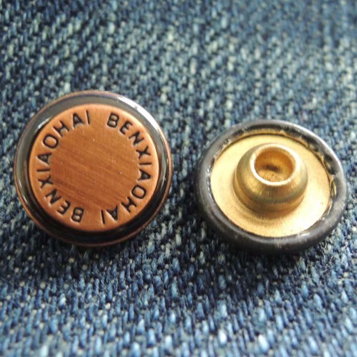 Jeans Brass Rivet for Garment (HDZL130045)