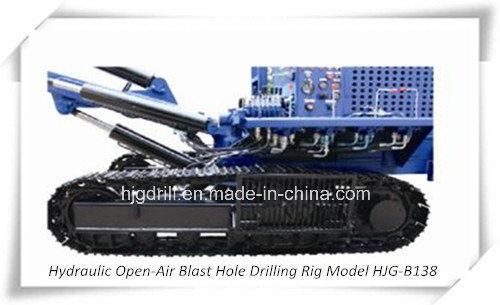 Hydraulic Open-Air Blast Hole Drilling Rig-Hjgb138