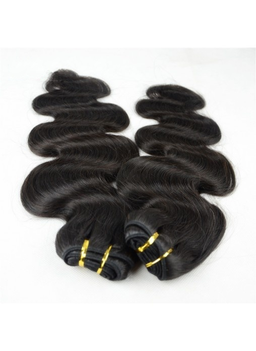 Body Wave Virgin Human Hair Bundles Top Quality Natural Color Black Hair Weft