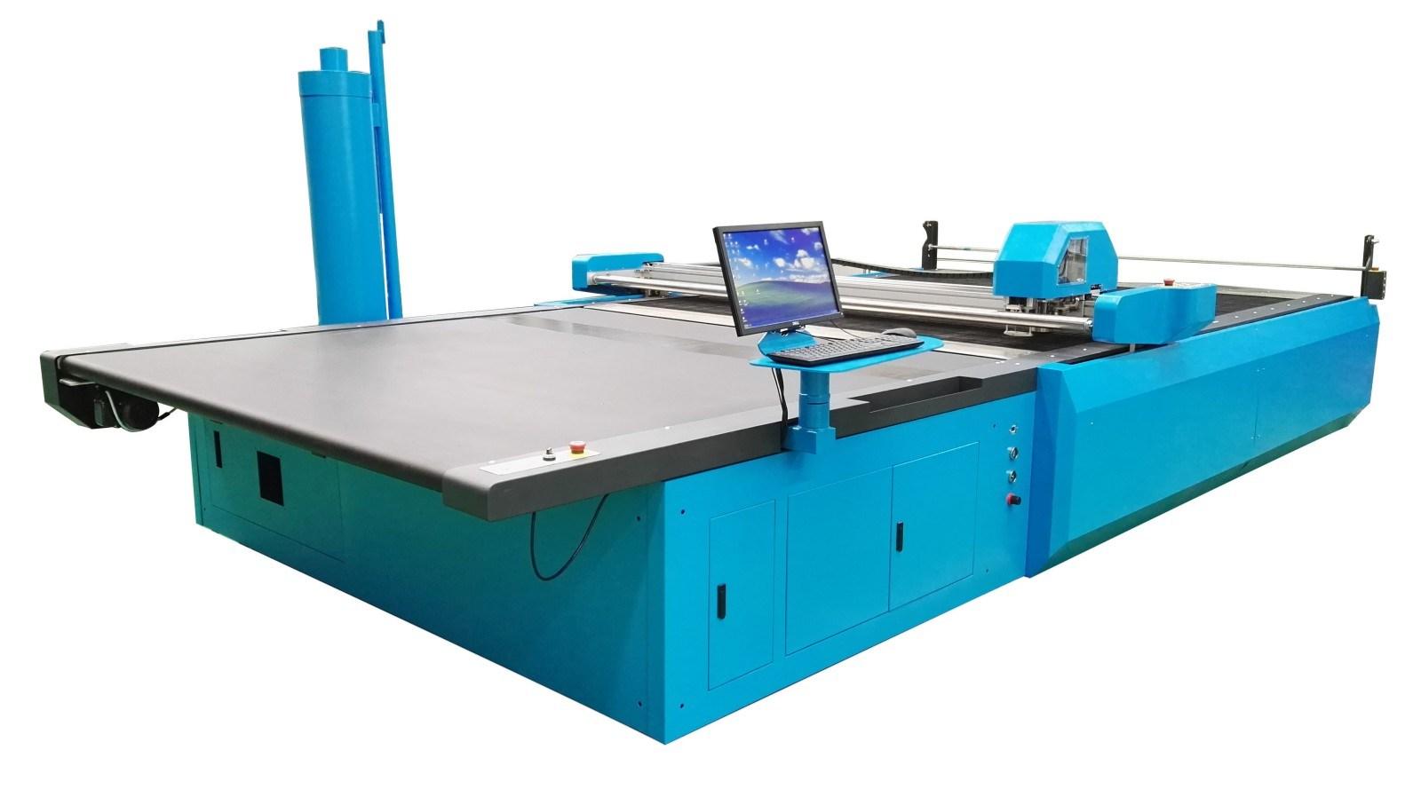 Automatic Fabric Cutting Machine for Garment
