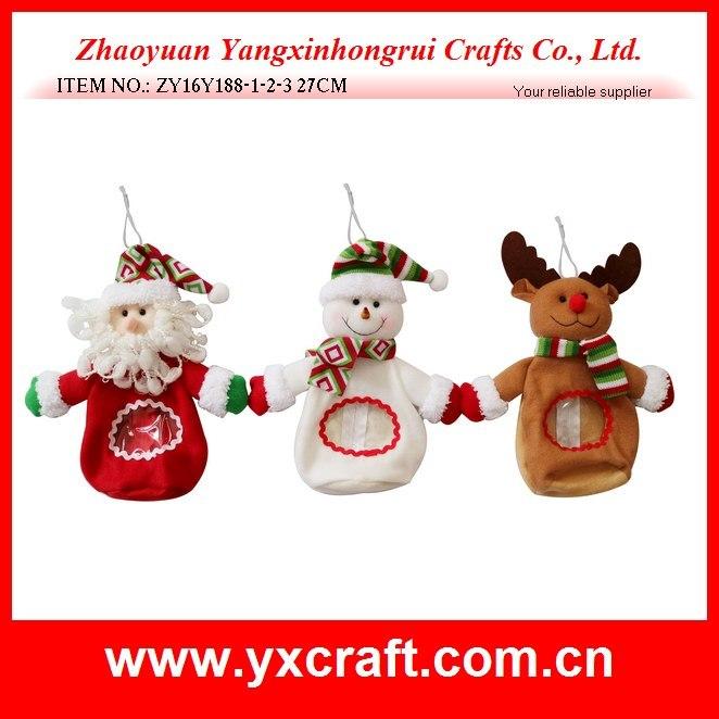 Christmas Decoration (ZY15Y151-1-2) Christmas Plastic Bag