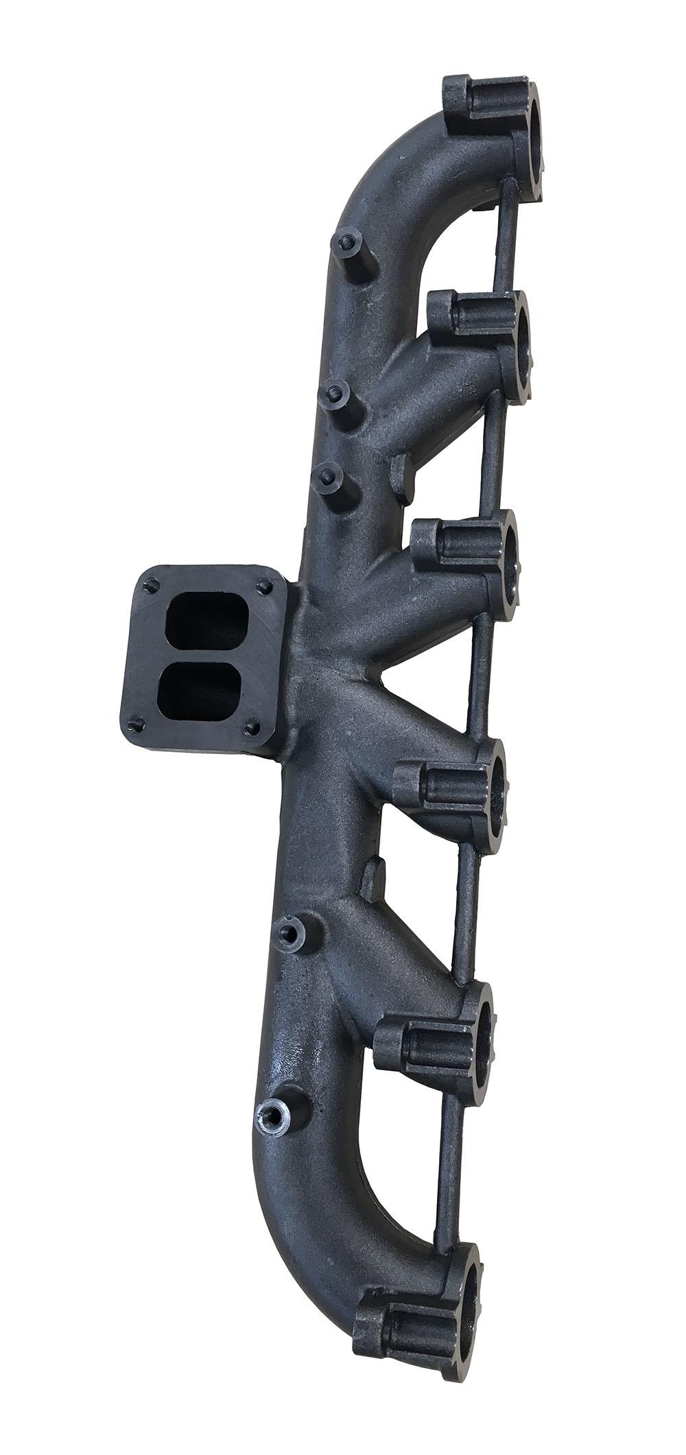 Cummins 6CT Cast Iron Exhaust Manifold for Diesel Engine