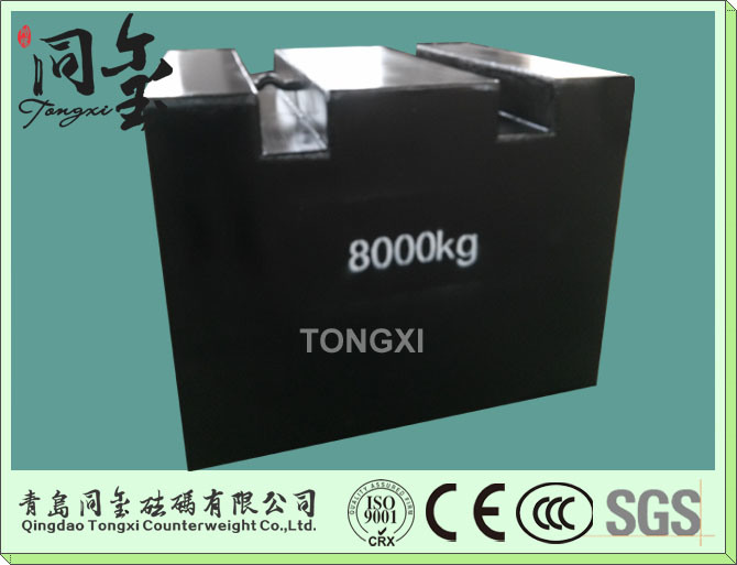 2000kg M1 Class Test Weights Calibration Weights, Cast Iron Weight