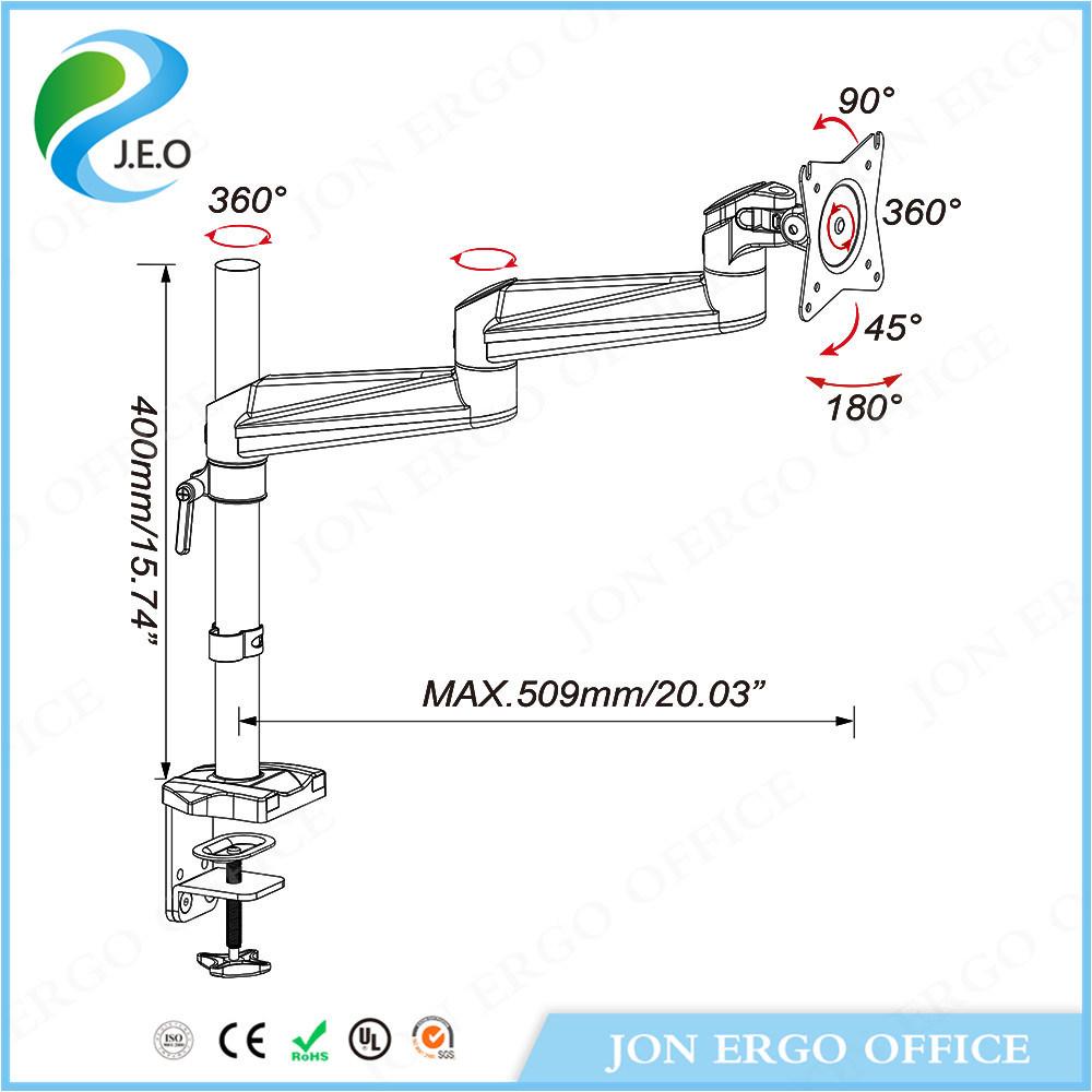 Best Adjustable Monitor Mount (JN-AE12C)