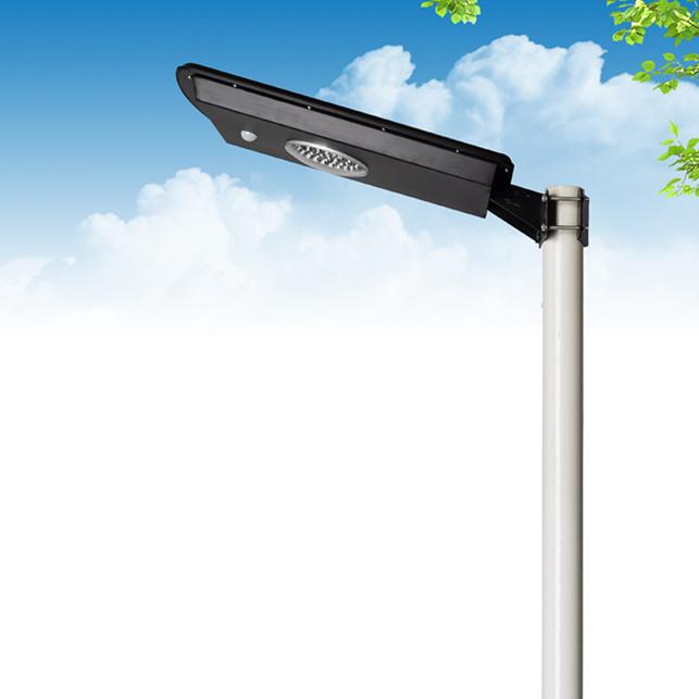 Promotion 10W LED All in One Solar Garden Street Light
