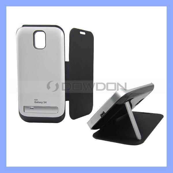 3200mAh External Battery for Samsung Galaxy S4 I9500, Battery Charger Case with Stand (Battery-07)