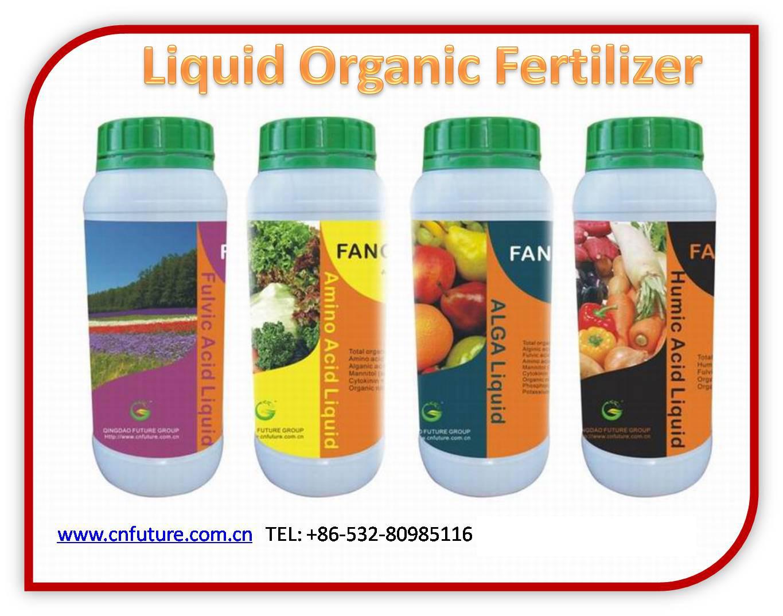 Humic Fulvic Acid Organic Liquid Fertilizer