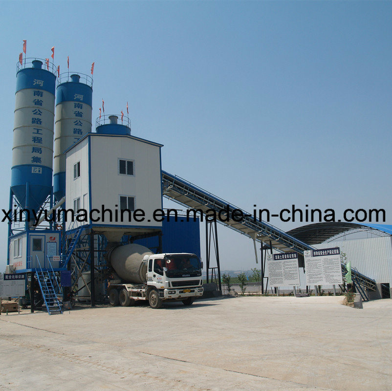 Belt Convey Type Concrete Mixing Plant (HZS60)