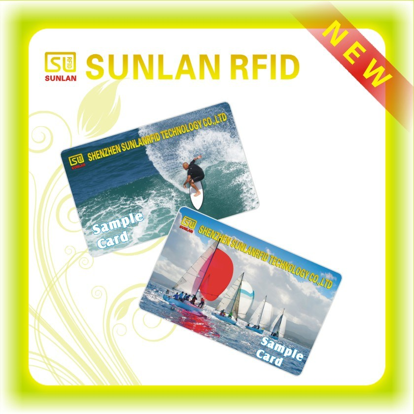 RFID PVC Printing Card Samples