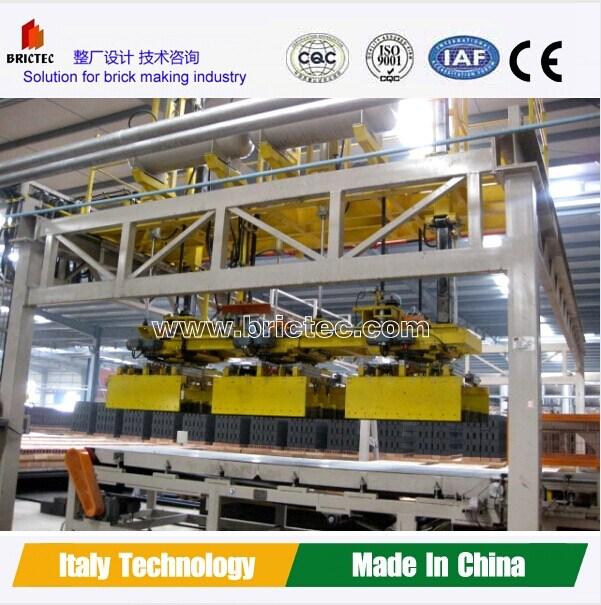 High Capacity China Manufactruring Fully Automatic Clay Brick Plant