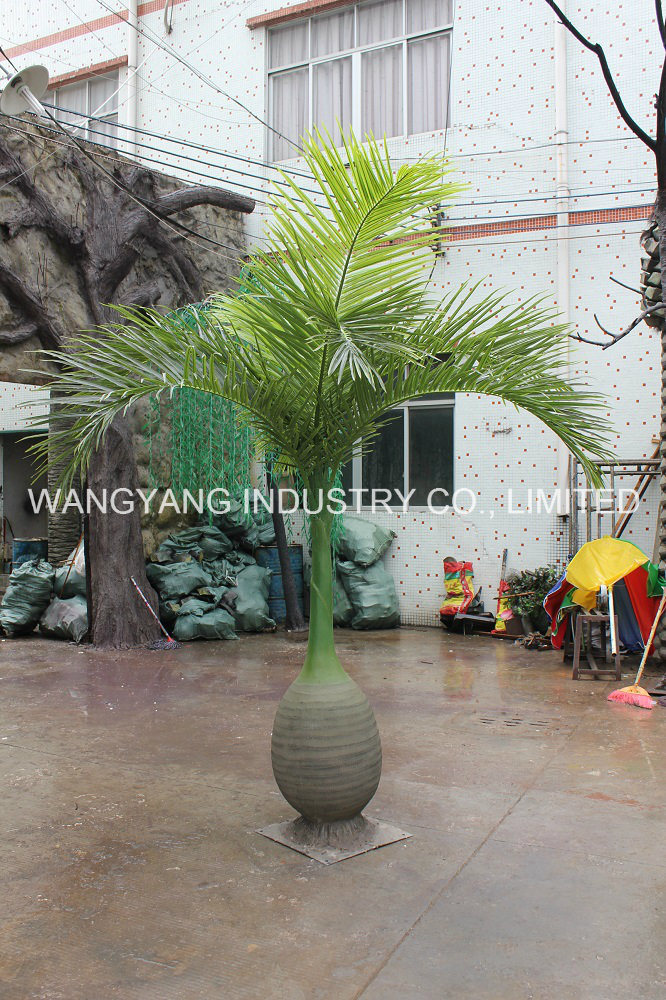 Garden Home Decoration Wholesale Plastic Outdoor Synthetic Coconut Palm Tree