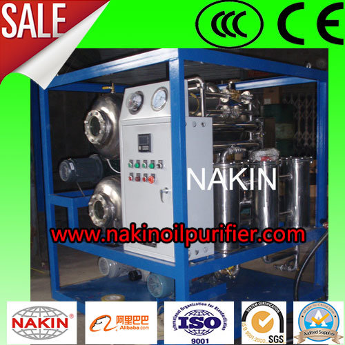2017 High Vacuum Transformer Oil Purifier, Waste Oil Regeneration Plant