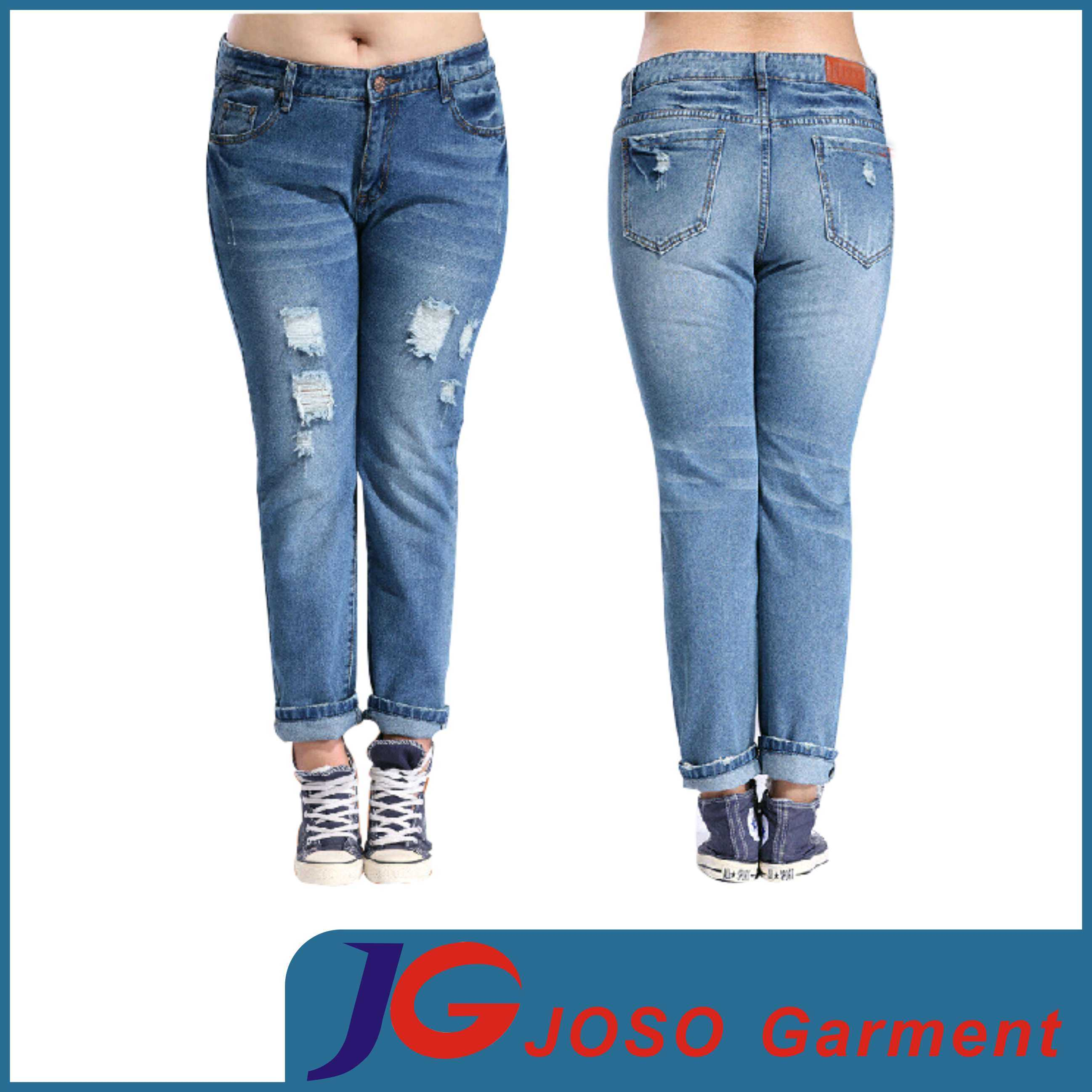 ripped jeans for plus size women jeans am