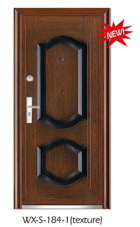 Hotsale Steel Security Door (WX-S-184)