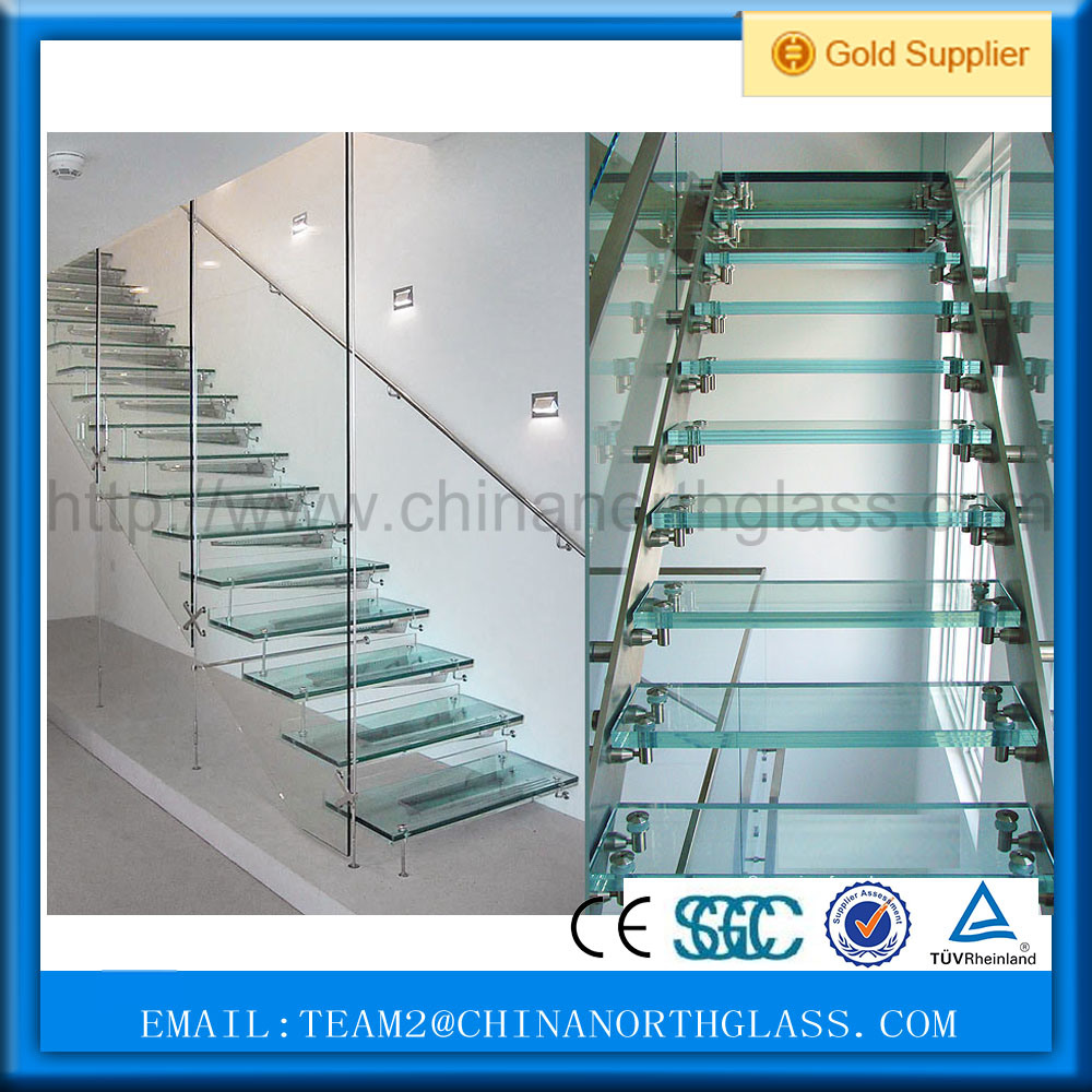 Hot Sale 12mm Thick Tempered Laminated Balustrade Glass