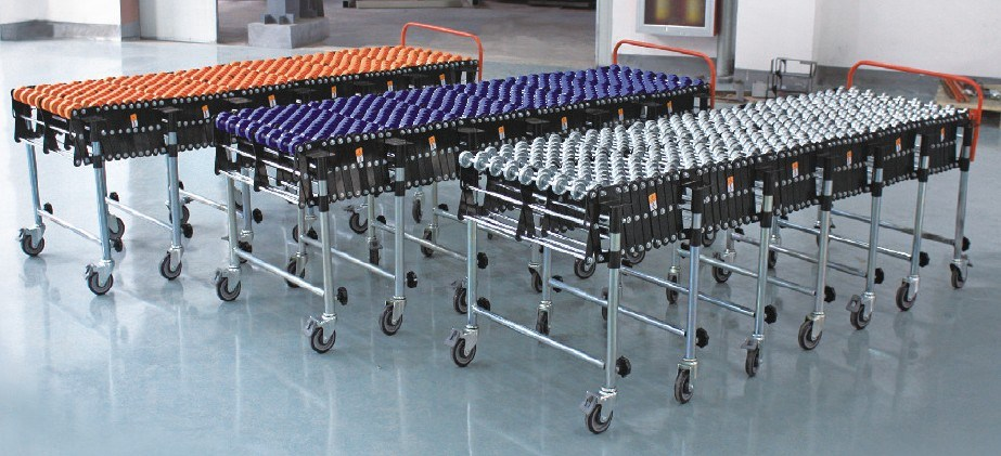 Flexible Motorized Roller Conveyor
