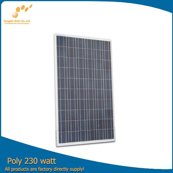 Poly 230W 30V Solar Panel (SGP-230W)