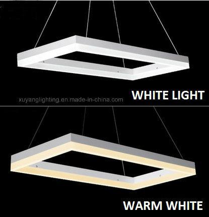 Rectangular Modern Pendant Lamp, LED Decorative Pendant Light