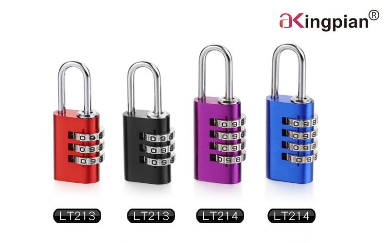4 Digit Brass Combination Lock and Code Lock 40mm