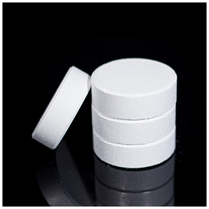 Trichloroisocyanuric Acid Effervescent Tablets, Factory Lowest Price, TCCA