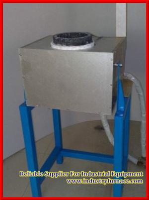 Hf-15, 220V, 5kg Gold/Platinum Induction Smelter/Stove/Furnace