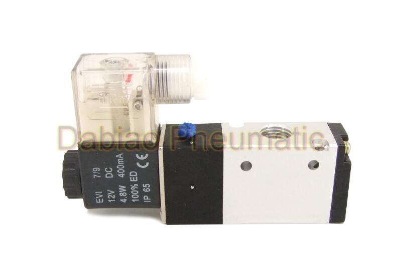 3V210 2 Position 3 Way Pneumatic Air Solenoid Valve