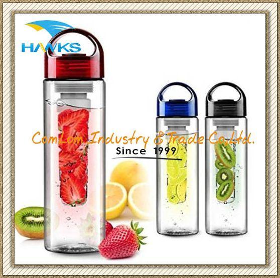 Tritan Fruit Infuser Water Bottle with Handle