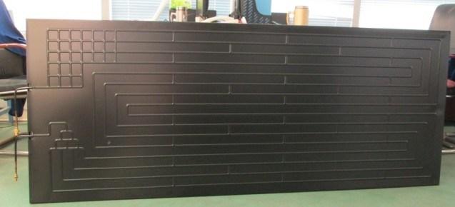 Thermodynamic Solar Panel Aluminum Solar Absorber