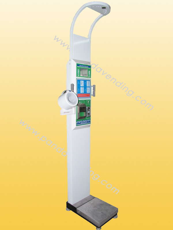 Coin-Operated Multifunctional Body Scale with Touch Screen (TR-BS900)