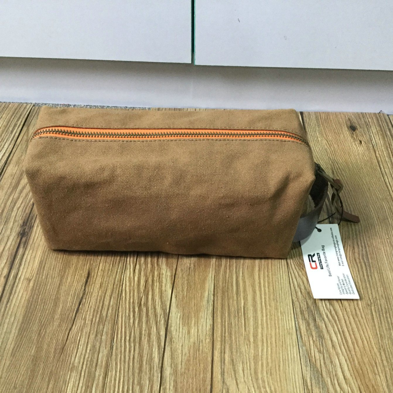 OEM or ODM Dopp Kit for Men Waterproof Canvas