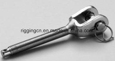 Swage Stud Terminal Thread for Wire Rope Connecter