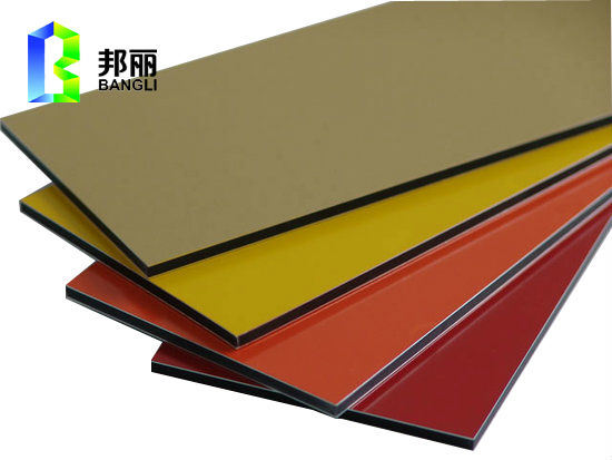 Red Color PVDF Mirror Anodized Aluminum Sheet Solid Aluminum