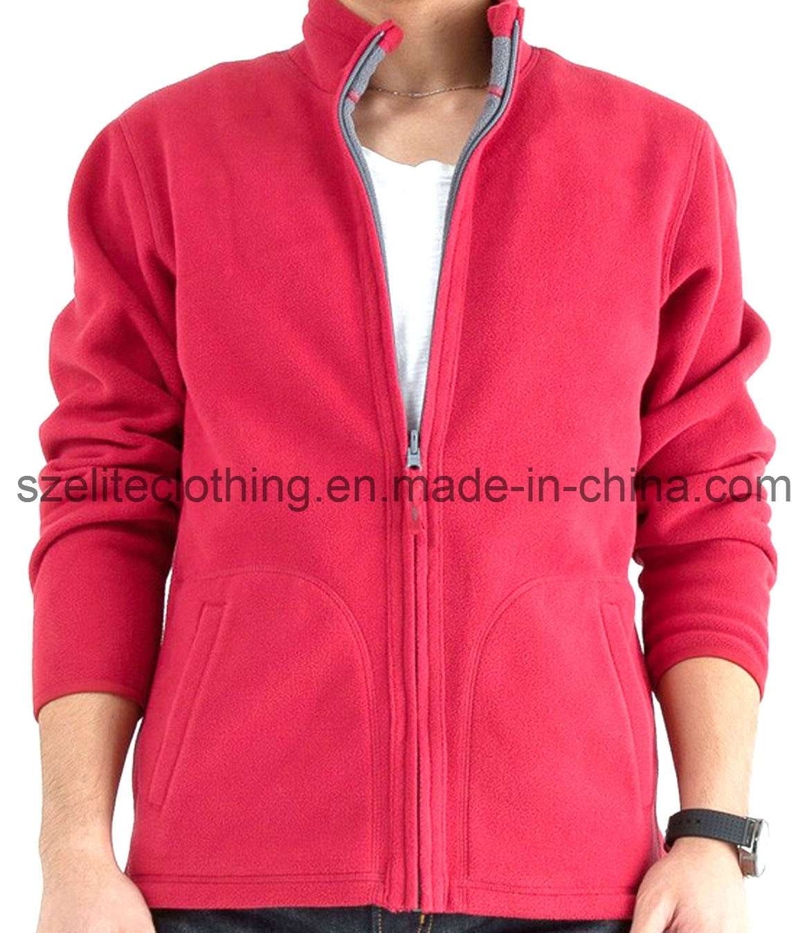 Promotional Thick Jacket Polar Fleece (ELTWJJ-13)